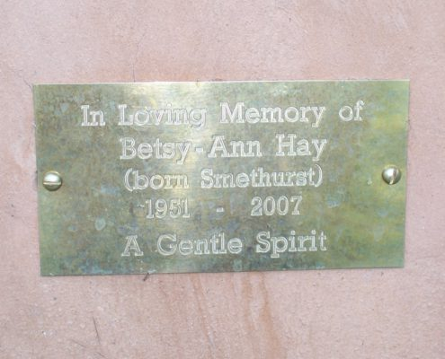Betsy Ann Smethurst Memorial